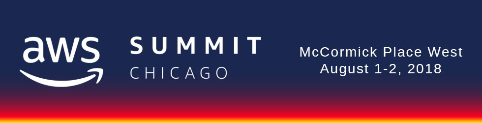 AWS Summit Chicago- 2018