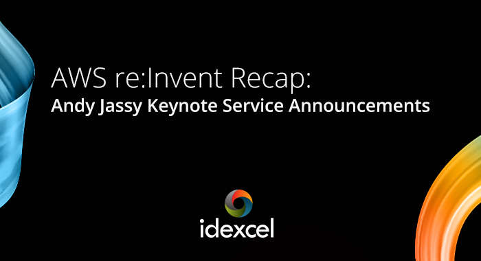 Andy Jassy Keynote Service Announcements