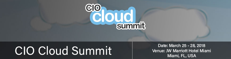 CIO cloud summit 2018